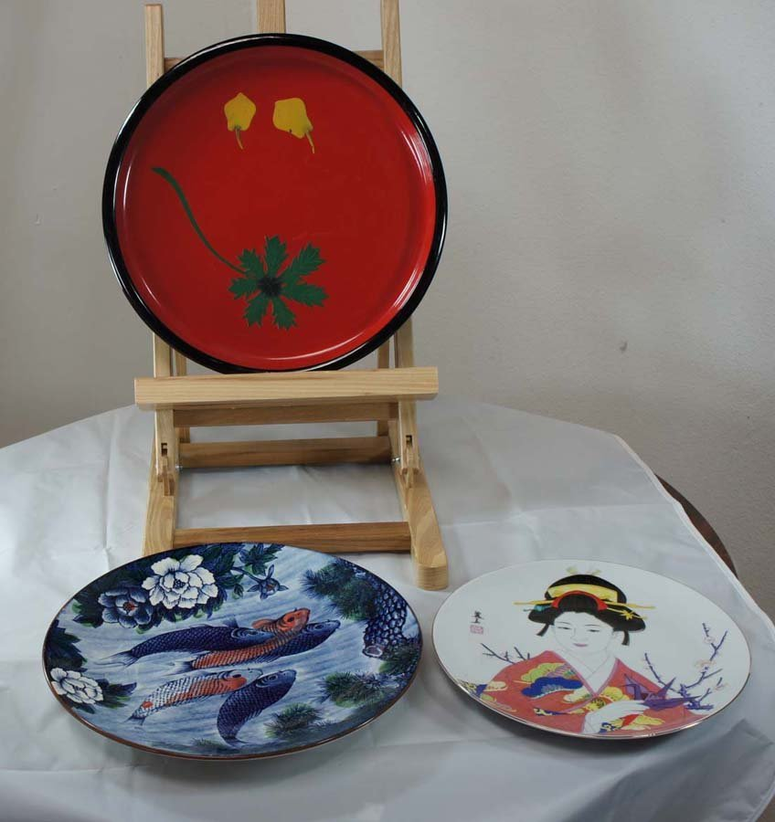 108:  JAPANESE EXPORT PLATES,  20th c. ,