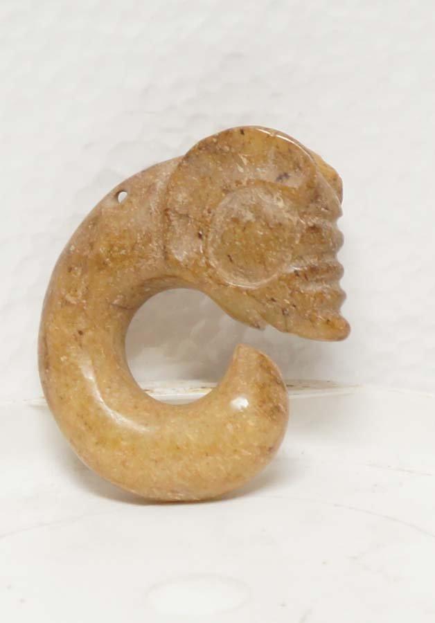162:  HONGSHAN CULTURE JADE FIGURE,  Chinese Neolithic