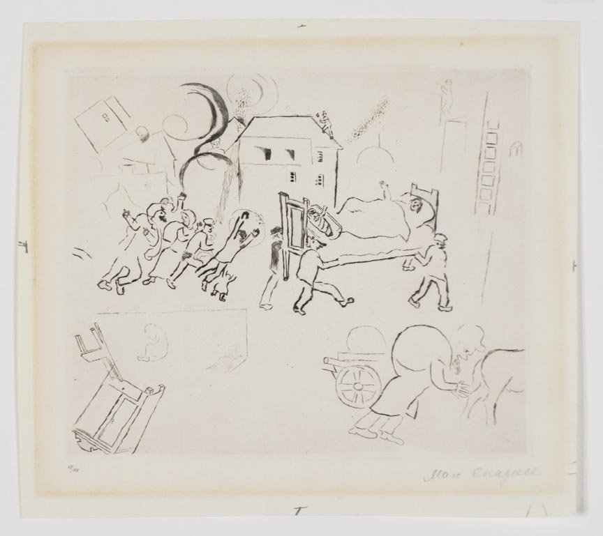 427:  CHAGALL,    MARC,  Russian/French 1887-1985,