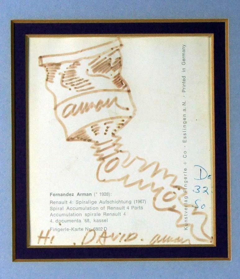 112:  ARMAN (PIERRE FERNANDEZ ARMAND),  French 1928-200