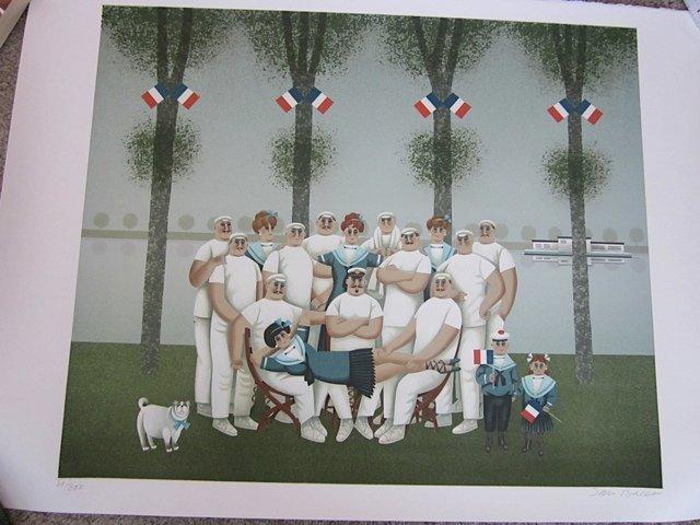 114:  BALET,  JAN,   German/Swiss 1913-2009.,
