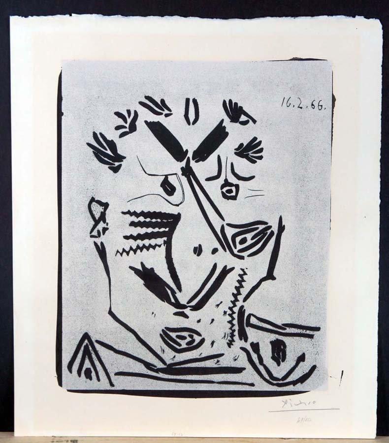 236:  PICASSO,     PABLO,   Spanish 1890-1973,
