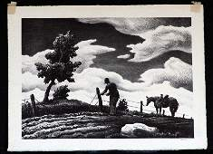 BENTON, THOMAS HART , (American 1889-1974),