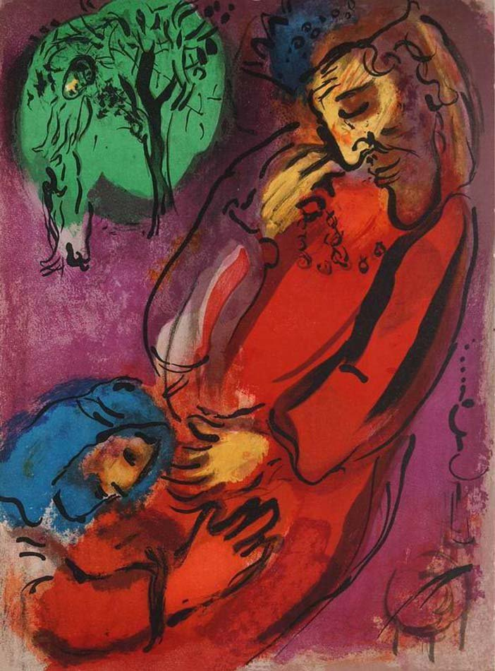 CHAGALL,  MARC,   Russian/French 1897-1985,