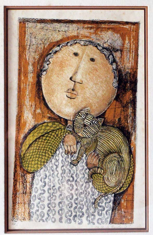 Boulanger,  Graciela Rodo,  Bolivia/France B. 1935,