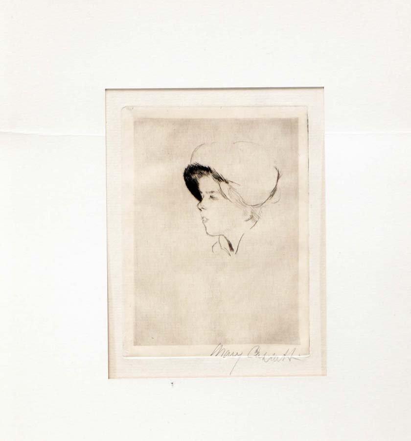 CASSATT,     MARY,   American 1844-1926,
