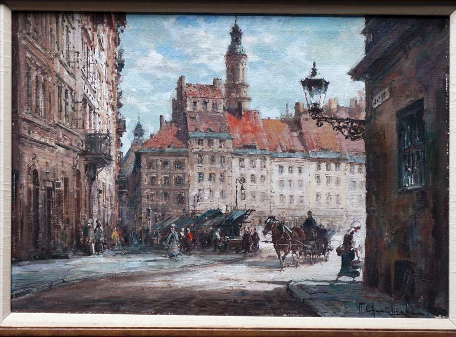 CHMIELINSKI,  WLADYSLAW,   Polish 1911-1979,