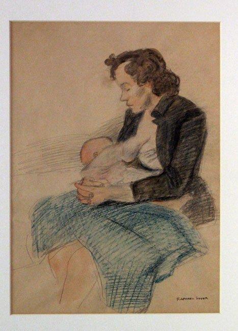 SOYER,  RAPHAEL,   American 1899-1987,