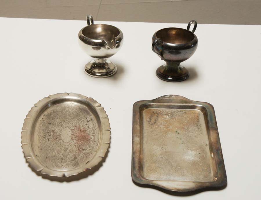 ARTS USA AND OTHERS,  SILVER PLATE,   ,