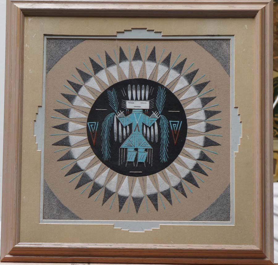 AMER-INDIO ART,   20th c. ,