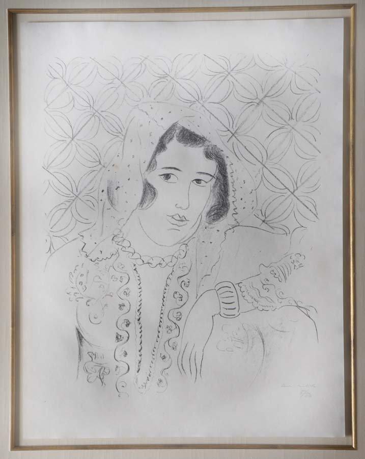 MATISSE,      HENRI,   French 1869-1954,