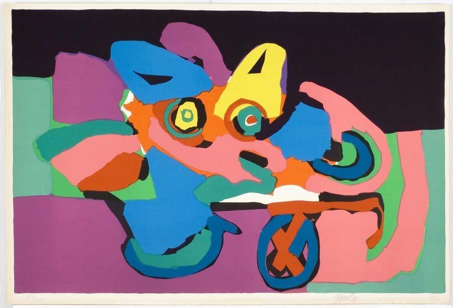 APPEL,  KAREL,  Dutch 1926-2006,