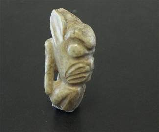 ANTIQUE CHINESE NEOLITHIC JADE,  ,