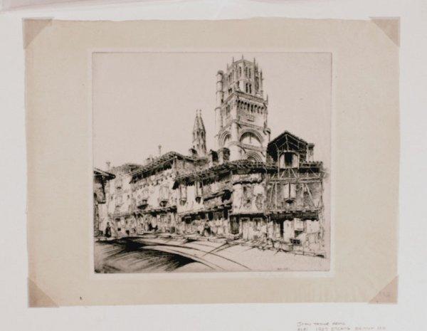308:     ARMS,  JOHN TAYLOR  American 1887-1953
