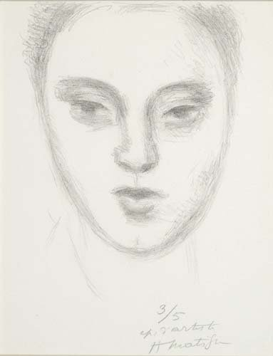 443:     MATISSE,  HENRI  French 1869-1954