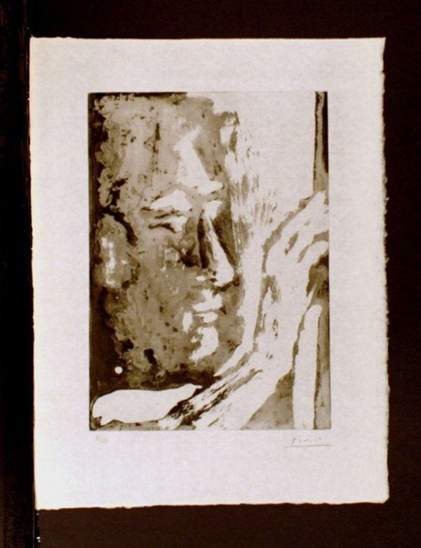 493:     PICASSO,   PABLO  Spanish 1890-1973