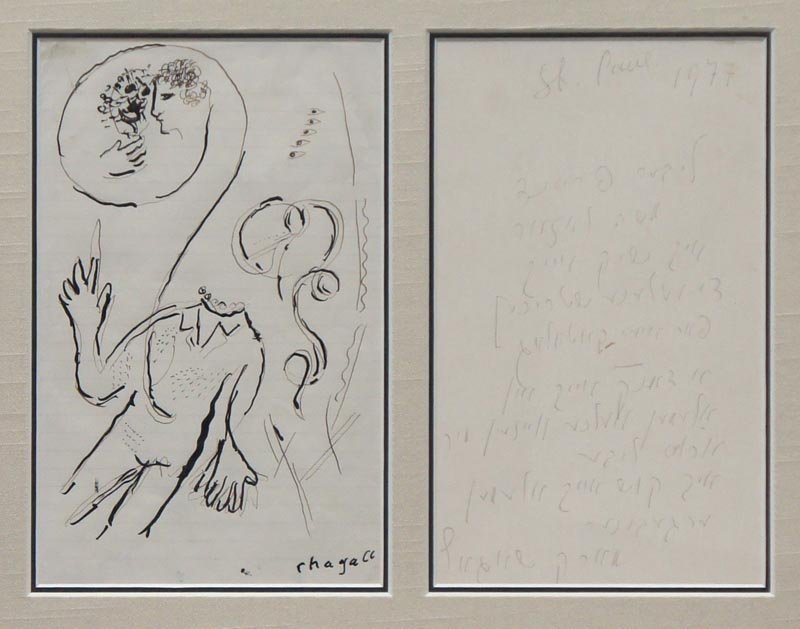 Chagall, Marc,  Russian-French 1887-1985,