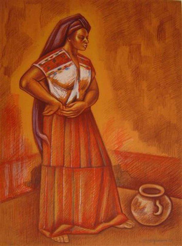 5:     ANGUIANO, RAUL  Mexican 1915-2006