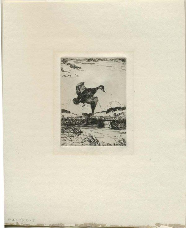 30:     BENSON,   FRANK WESTON  American, 1862 - 1951