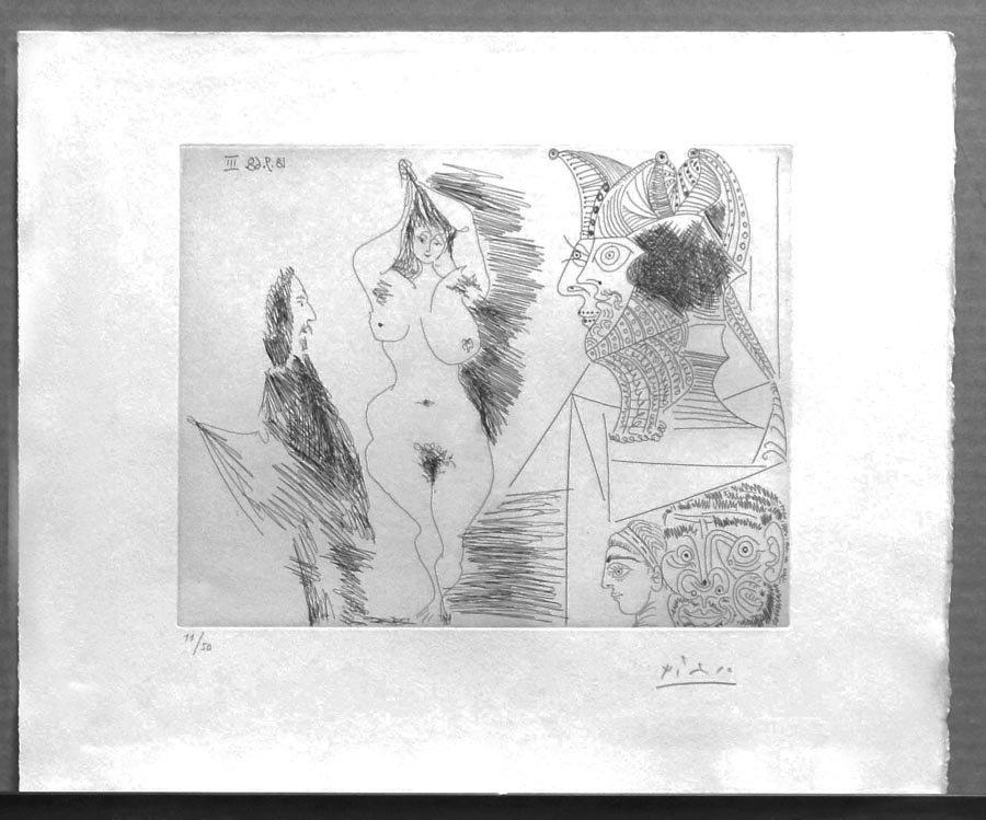 Picasso, Pablo,  Spanish 1881-1973,