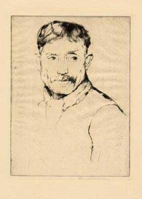 411:     AUERBACH-LEVY,     WILLIAM American, 1889 - 19