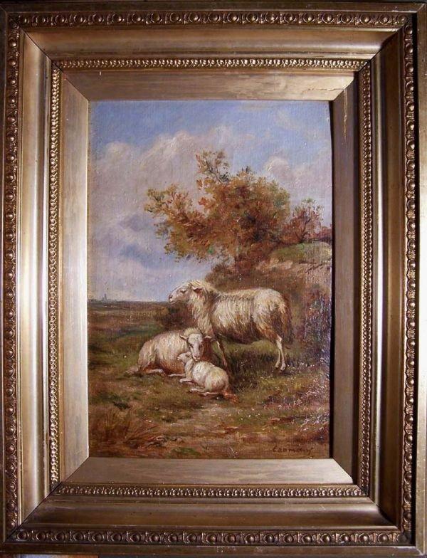 15:     COOMANS,  AUGUSTE  Belgian, b. 1855