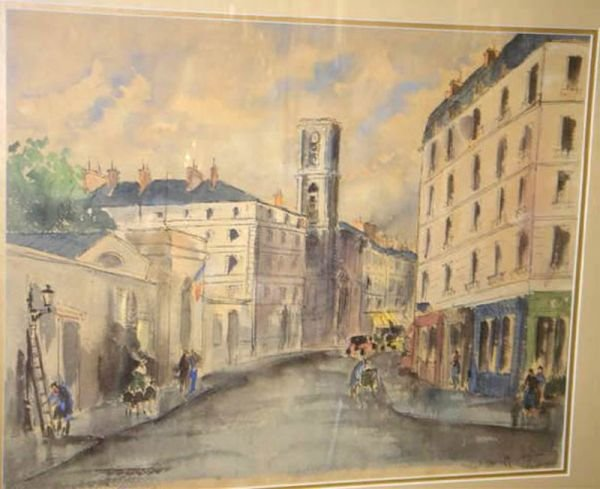 18:     DE NEYRAC,  GUY French 20th century