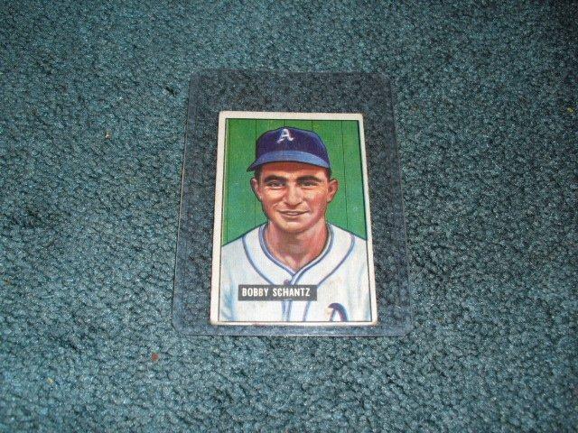 1951 Bowman Bobby Shantz Philadelphia Athletics