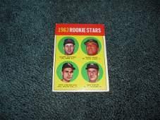 1963 Topps Dave Debusschere Rookie Card Baseball