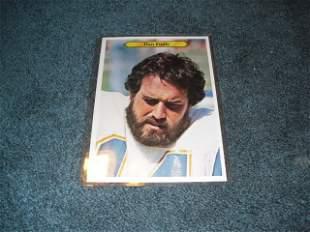 1981 topps giants Dan Fouts