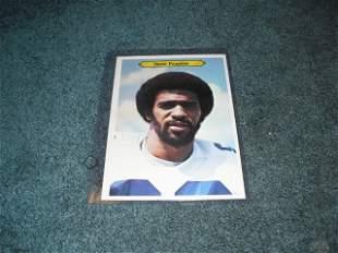 1981 Topps Giants Drew Pearson