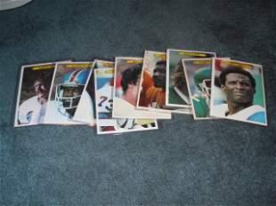 1981 Topps Giants (9) Card Lot