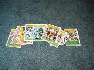 1981 Topps super Action (9) Card Lot