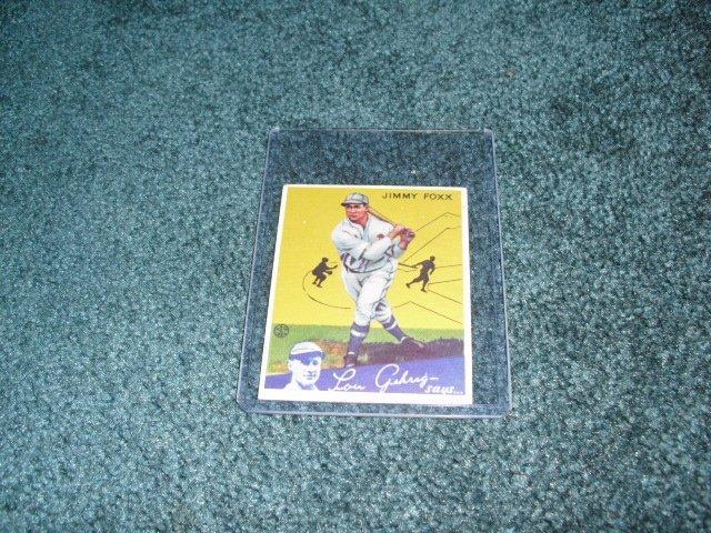 1934 Goudy Jimmy Foxx