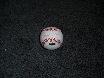 Hank Aaron Autograph Ball w/COA