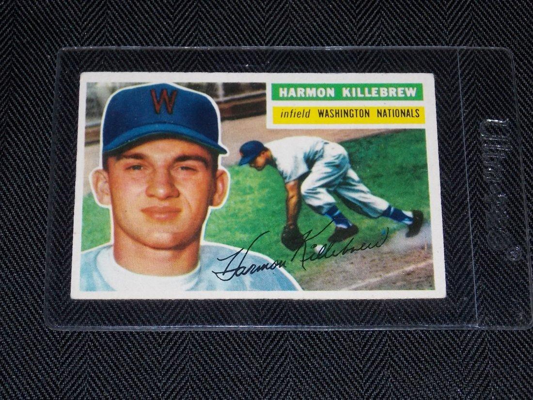 1956 Topps, HARMON KILLEBREW, Washington Nationals