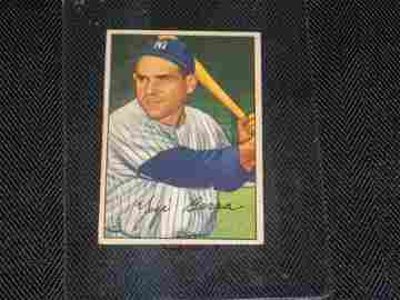 YOGI BERRA, 1952 Bowman, New York Yankees