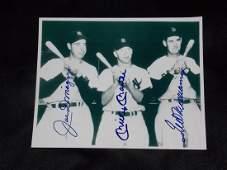 DiMaggio, Mantle & Williams
