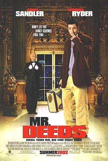 Mr Deeds Movie Poster