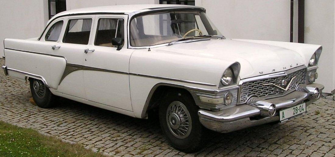 Chaika GAZ-M13 Soviet limousine, 1978, 50000 km mileage