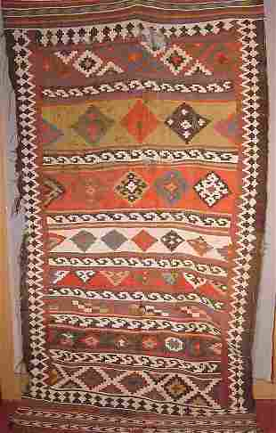 Oriental rug c. 1820