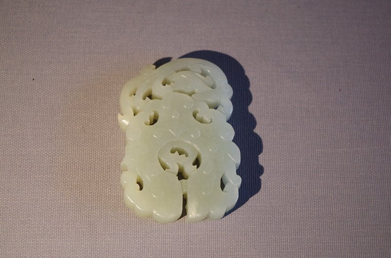 Chinese antique white jade