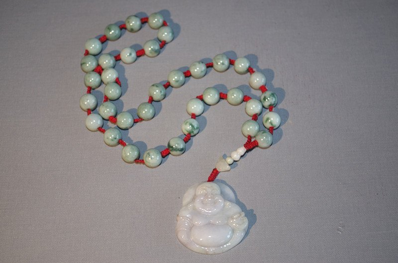 Chinese antique jade Necklace