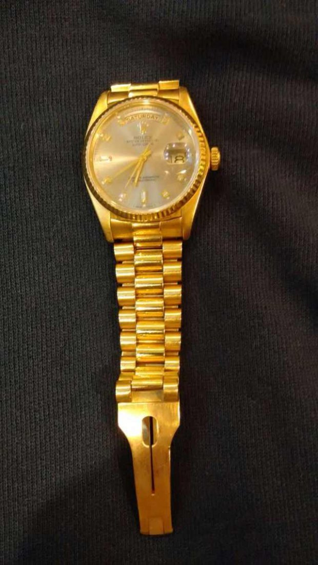Rolex 18K Gold Diamond