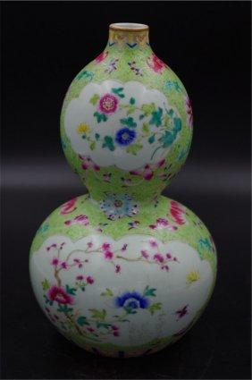 Chinese Porcelain Wucai Bottle