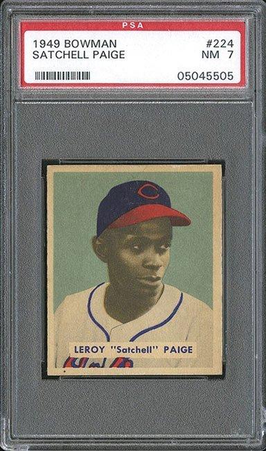 PSA 7 1949 Bowman #224 Satchel Paige