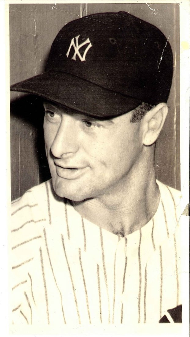 Type 1 Photograph From 1939 Lou Gehrig's Farewell