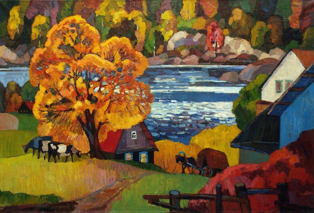 Andrei Kioresku, Autumn Pallet