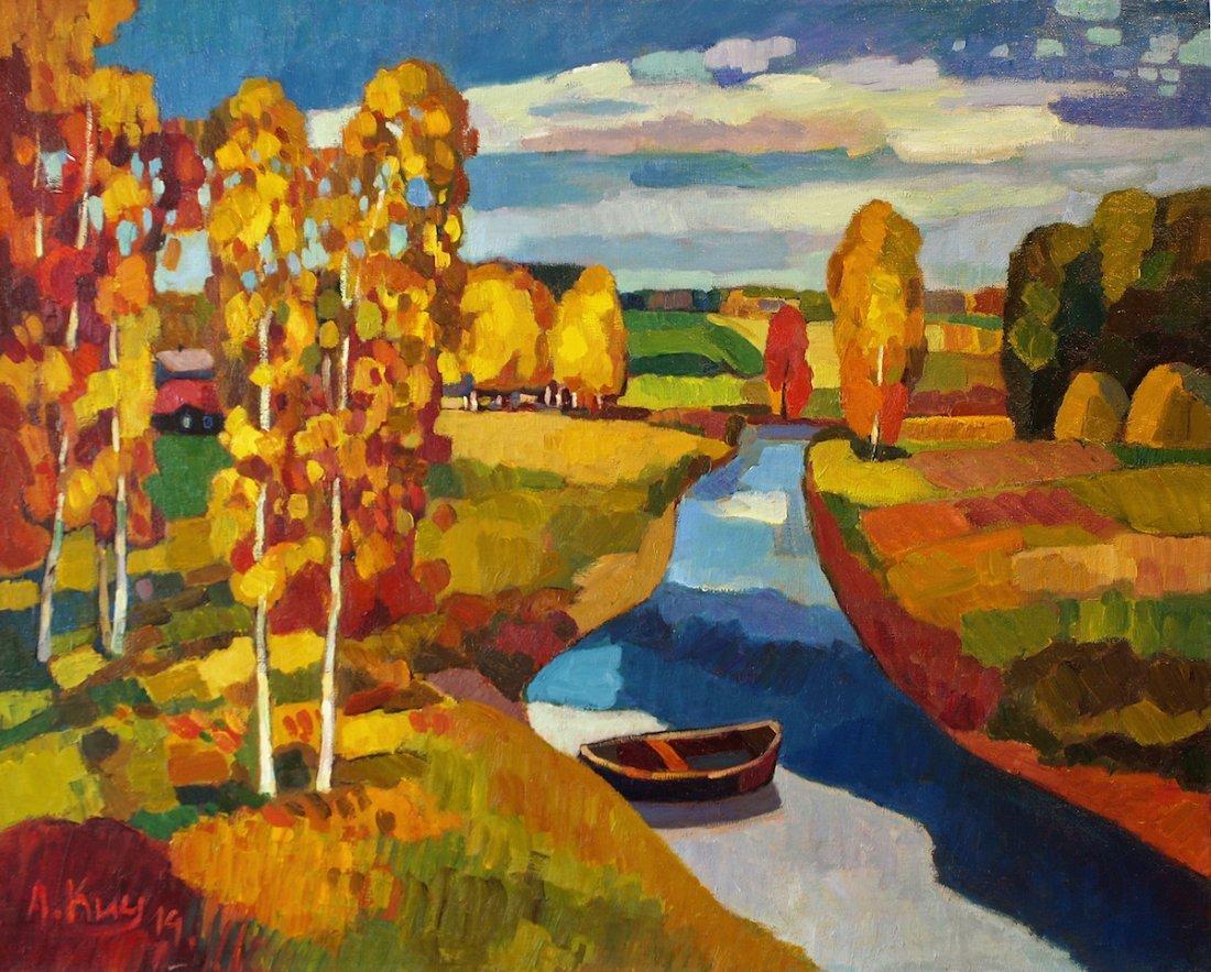 Andrei Kioresku, Autumn Evening