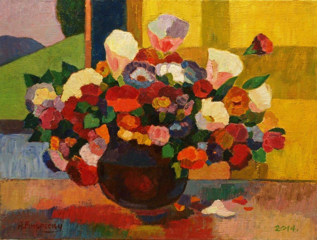 Andrei Kioresku, Autumn Flowers